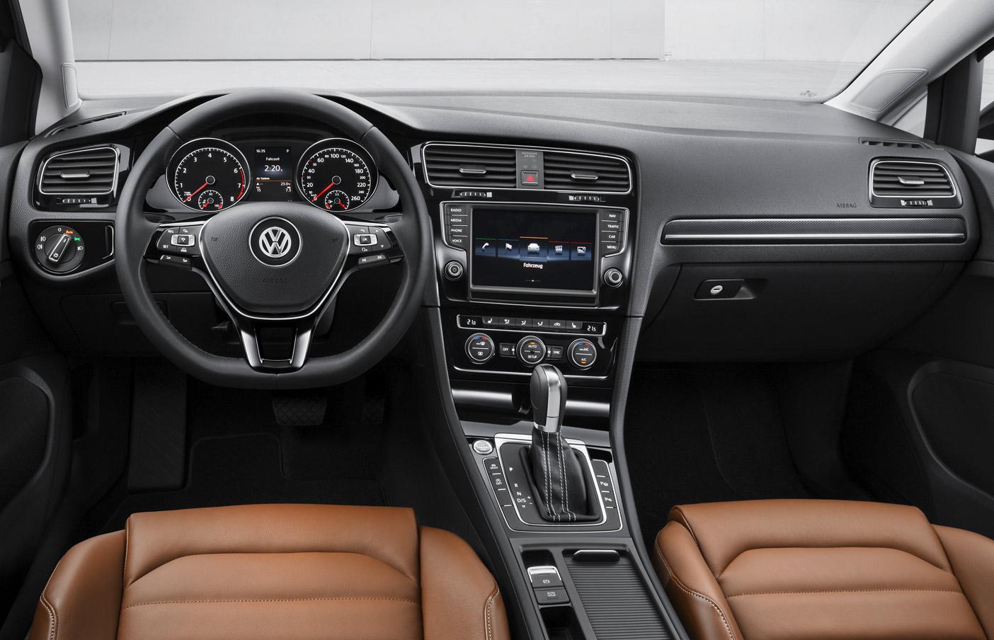 Volkswagen Golf 7 Interior 1 Vwvortex