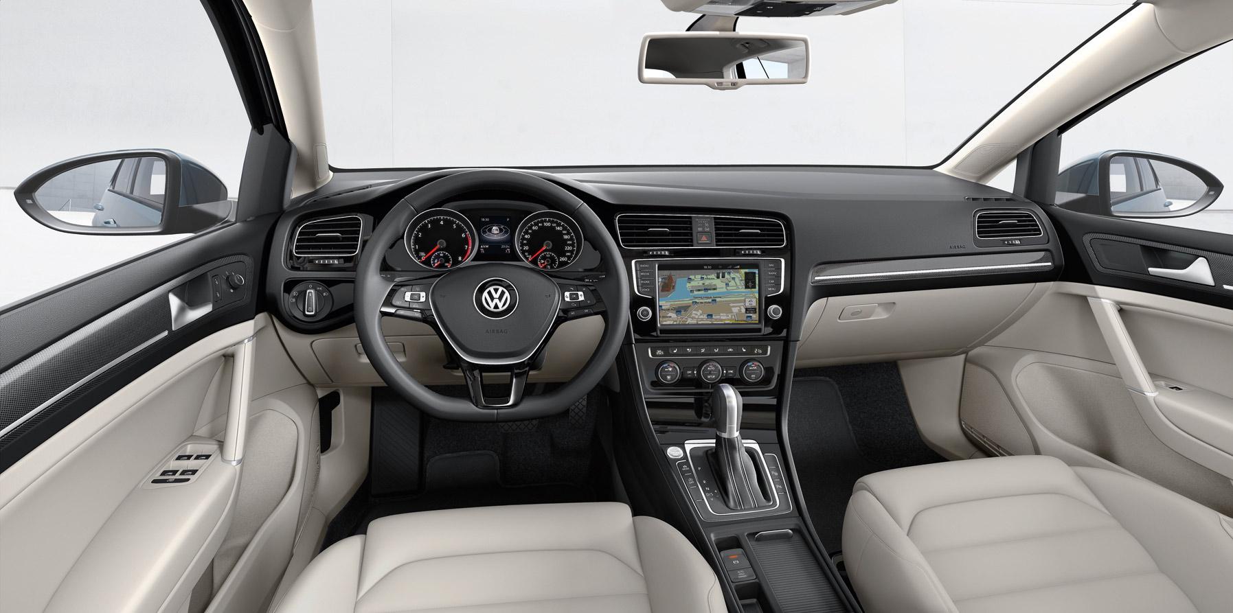 Volkswagen Golf 7 Interior 9 Design