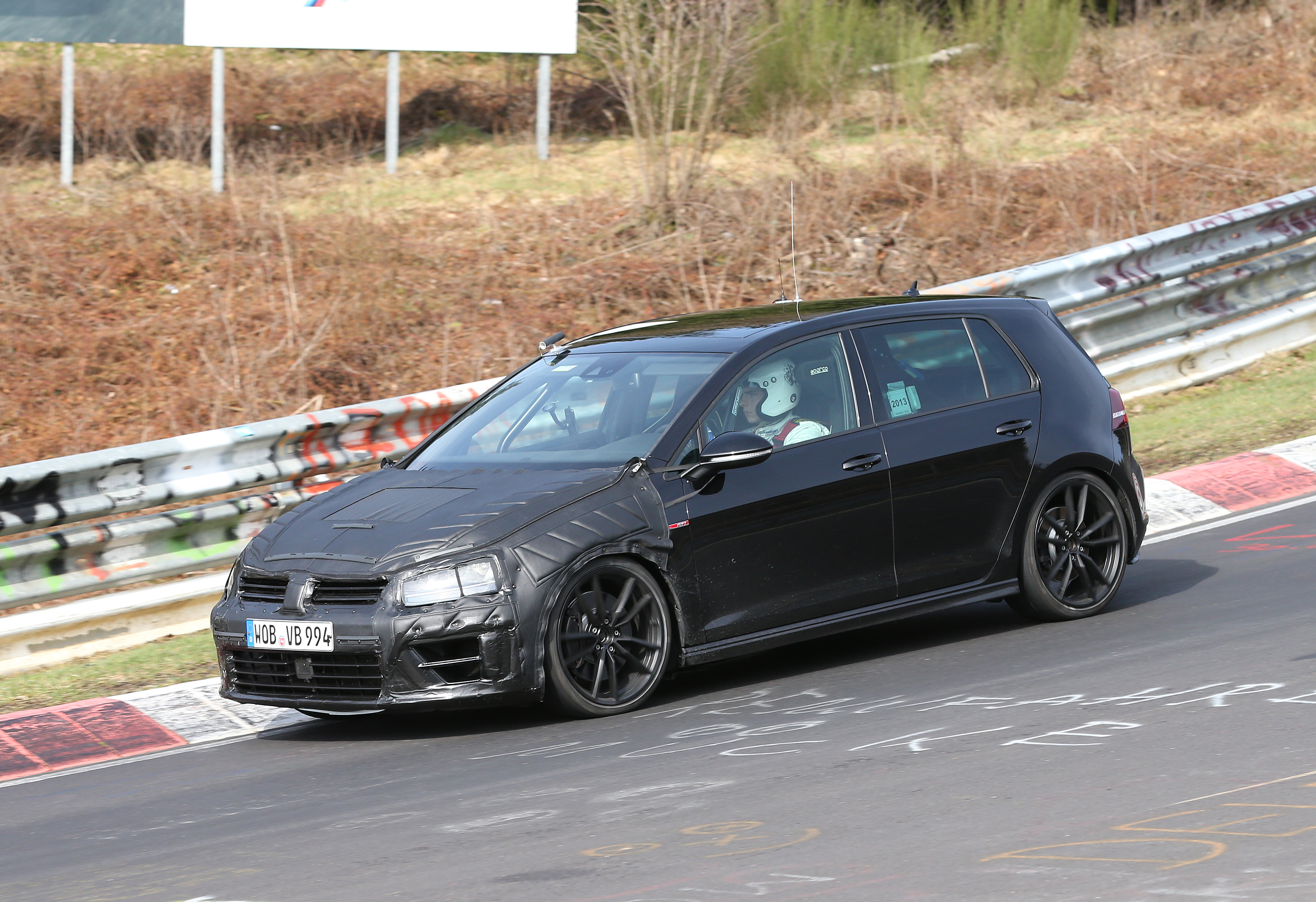 vw golf 7 r spy photos golf mk7 forum. Black Bedroom Furniture Sets. Home Design Ideas