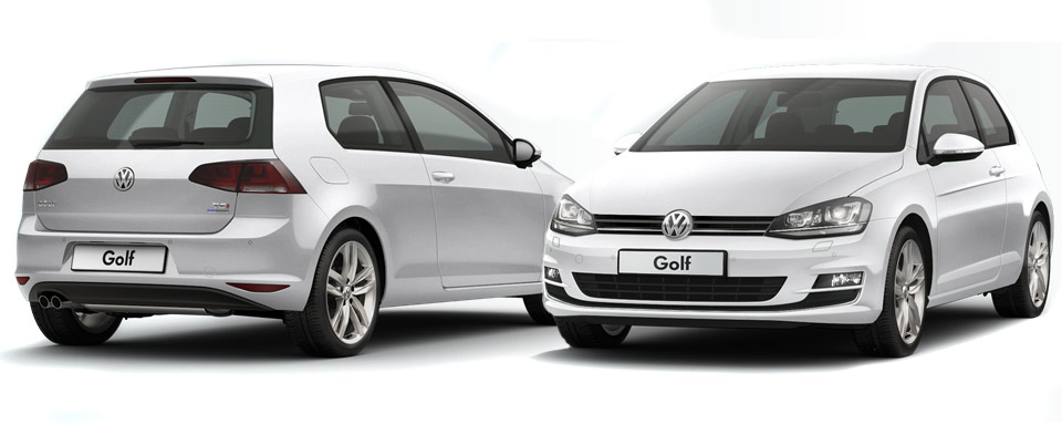 volkswagen golf 7 two door