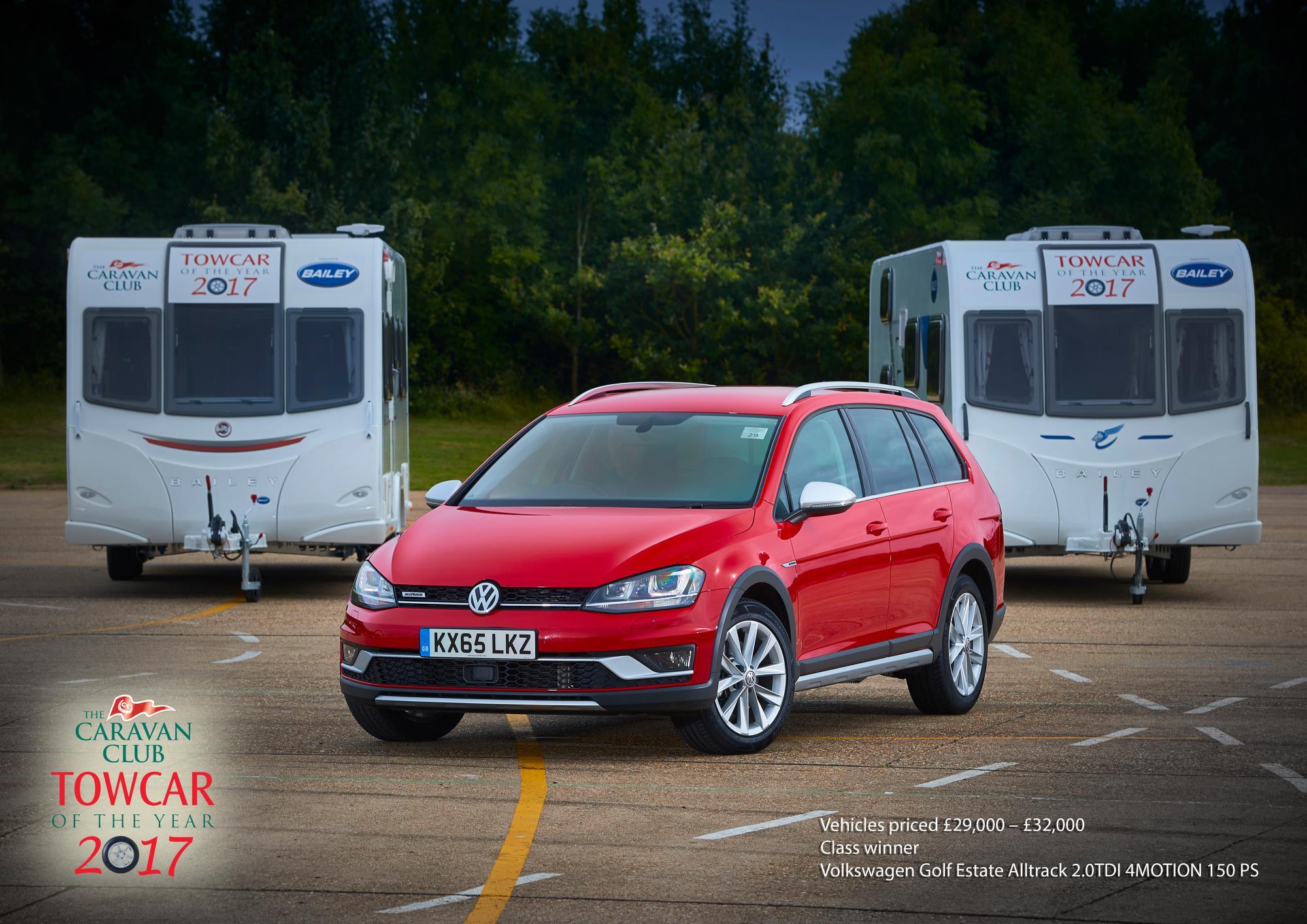 Passat Alltrack is the Caravan Club s Towcar of the Year 2017 VWVortex