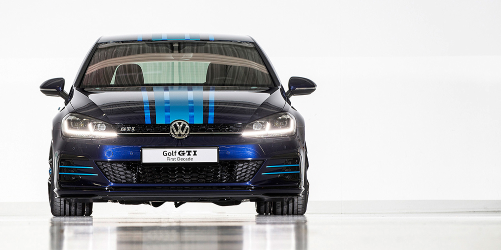 Volkswagen Golf GTI Hybrid Concepts - First Decade