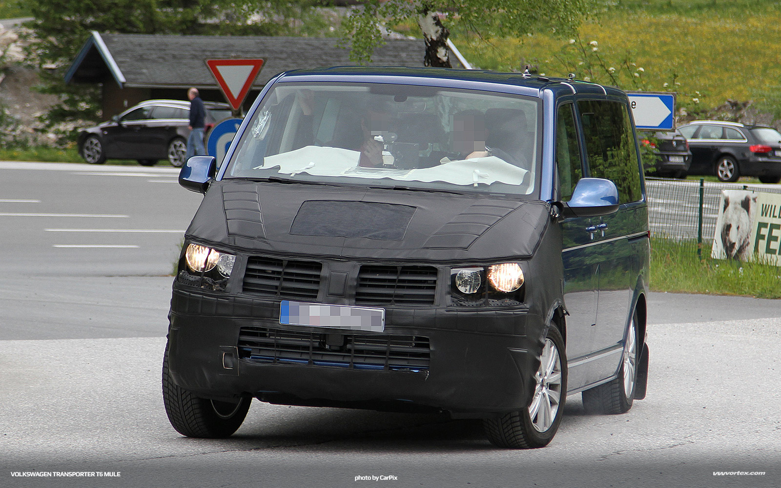 Volkswagen Transporter T6 mule 362 150x150