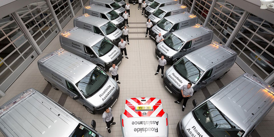 VOLKSWAGEN TRANSPORTERS TO THE RESCUE FOR AA ROADSIDE ASSISTANCE .1 110x60