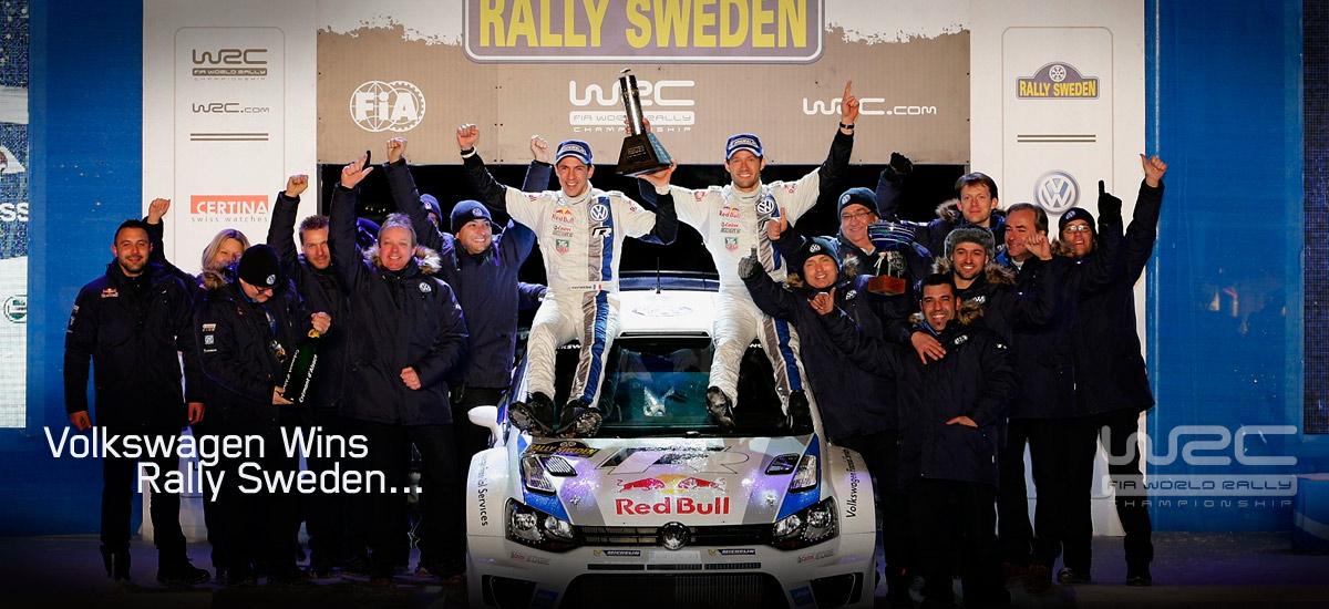 volkswagen wrc sweden 2013