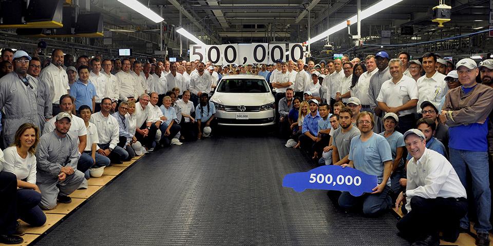 volkswagen chattanooga builds 500000th passat 5081 110x60