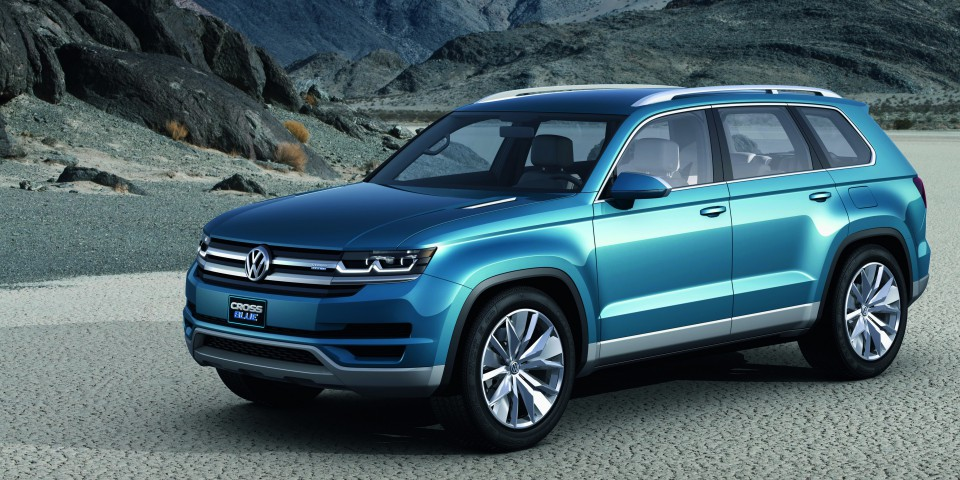 Possible Full Size Vw Suv Spotted