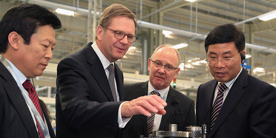 volkswagen inaugurates components plant in tianjin north china 4386 600x300