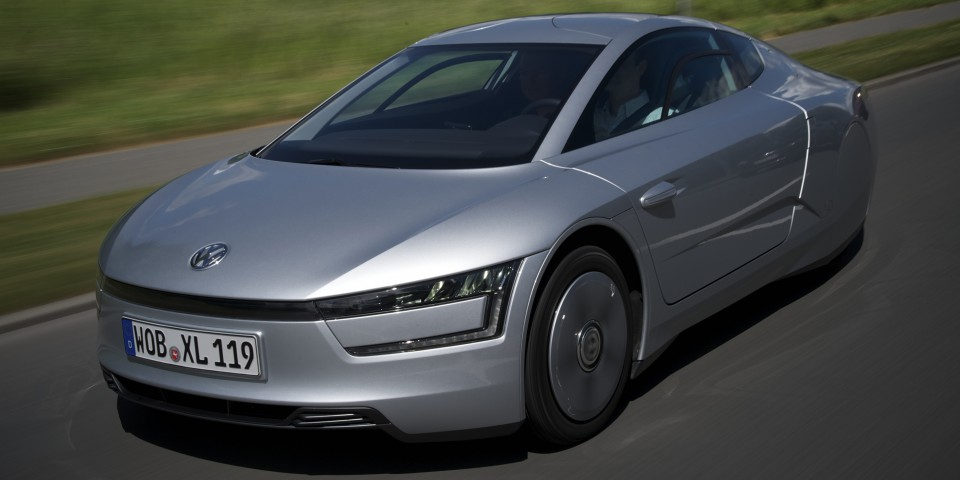 The  VW XL1 Concept