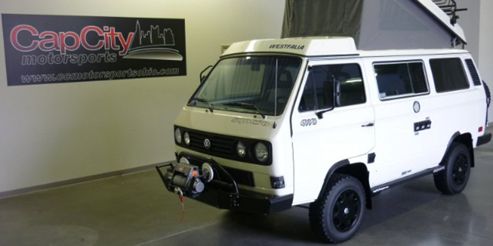 Find Of The Day 1987 Volkswagen Vanagon Syncro Camper
