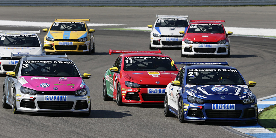 Volkswagen-Scirocco-R-Cup - Hockenheim (opening race) 2014
