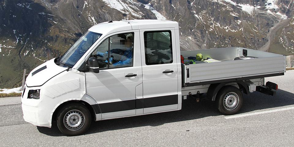 VW Crafter Doka 6 600x300