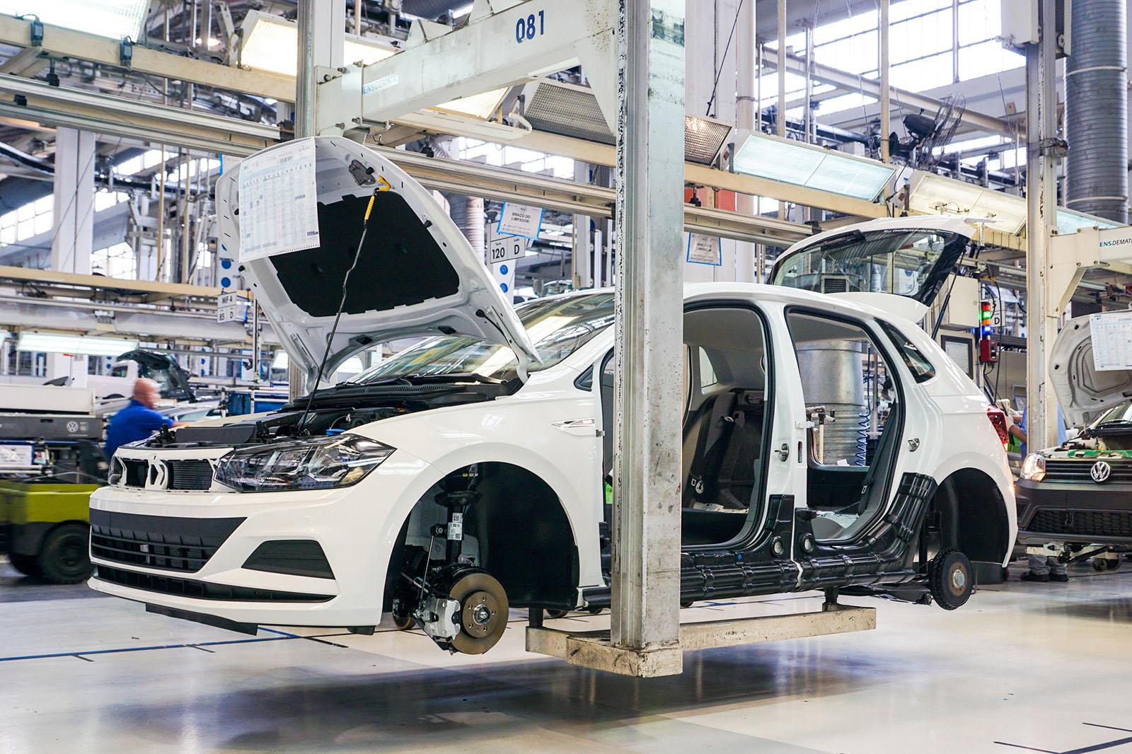 BMW Factory Tour >> Factory Tour Series Volkswagen Anchieta Production Line