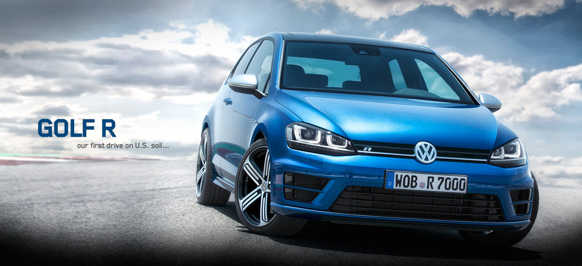 vw golf 7 r first drive hp