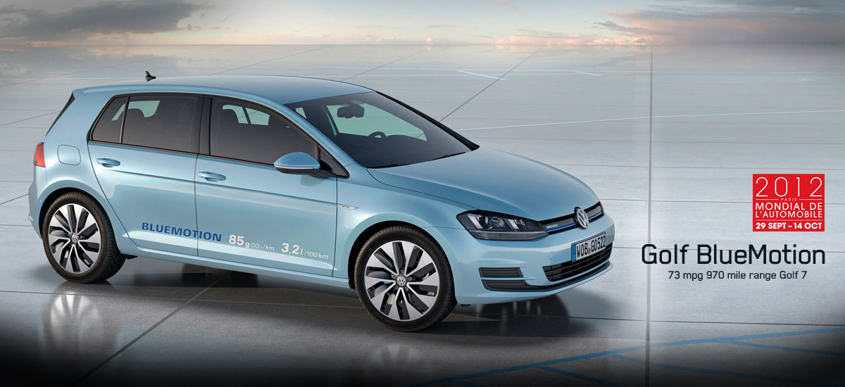vw golf bluemotion concept hp