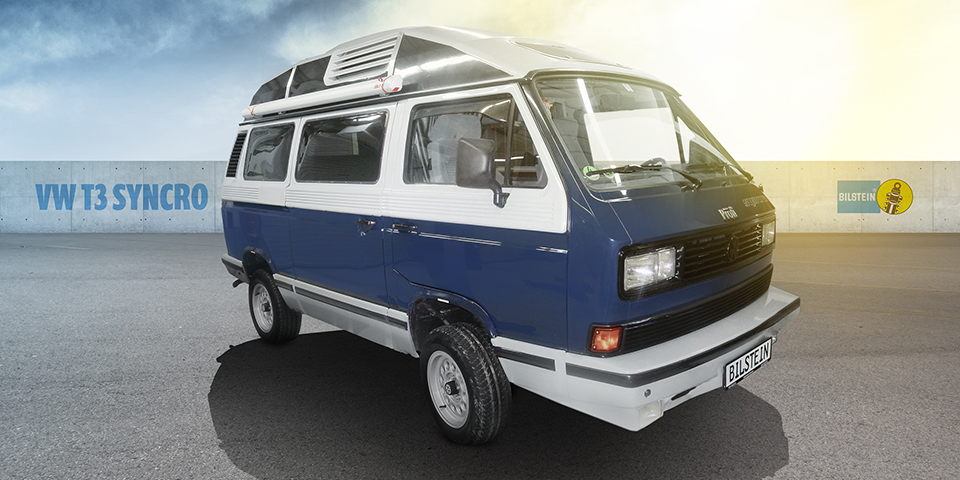 BILSTEIN Celebrates 30 years of Transporter T3 (T25) Syncro