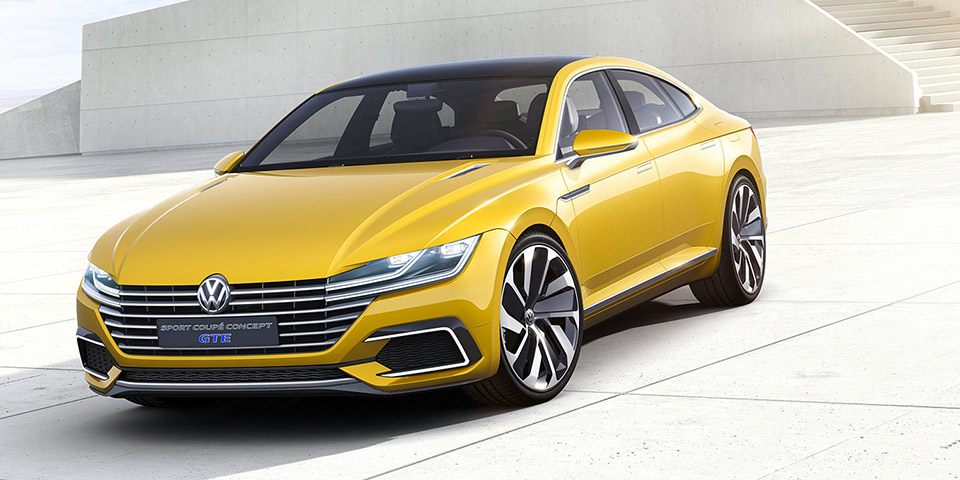 VW Sport Coupe Concept GTE head 600x300