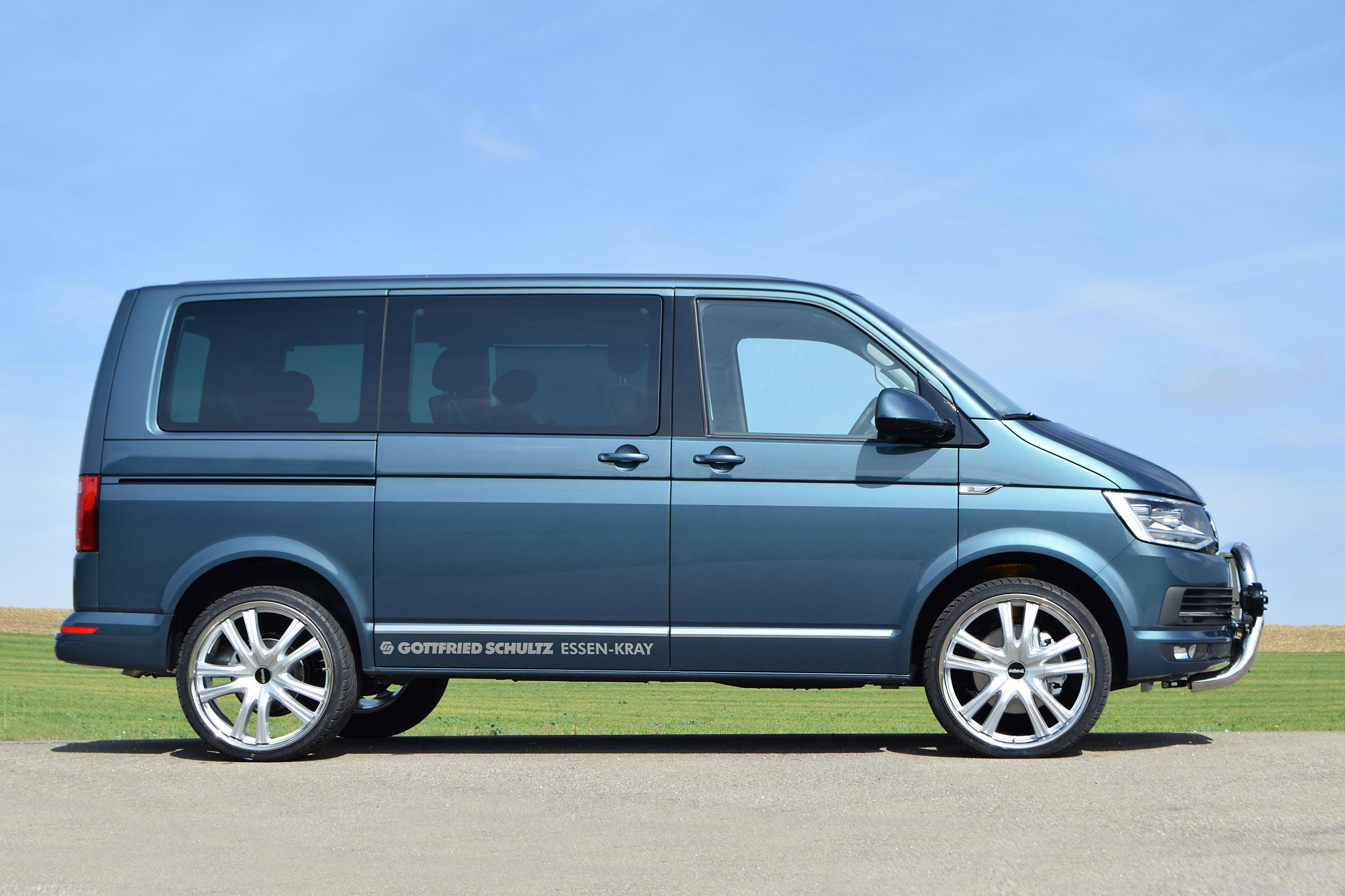 delta 4x4 announces off road package for vw multi van. Black Bedroom Furniture Sets. Home Design Ideas