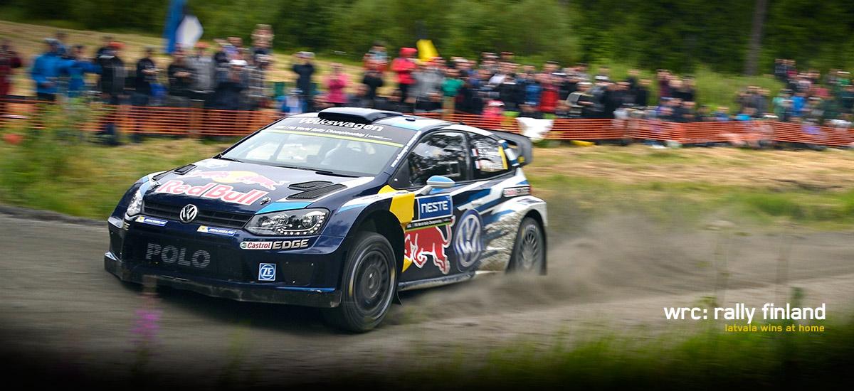 WRC: Latvala Wins at Rally Finland - VWVortex