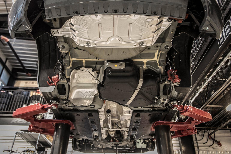 Project OE A3: Carbon Fiber Mirror Caps & Spoiler from Audi Accessories (photo: Fourtitude.com)