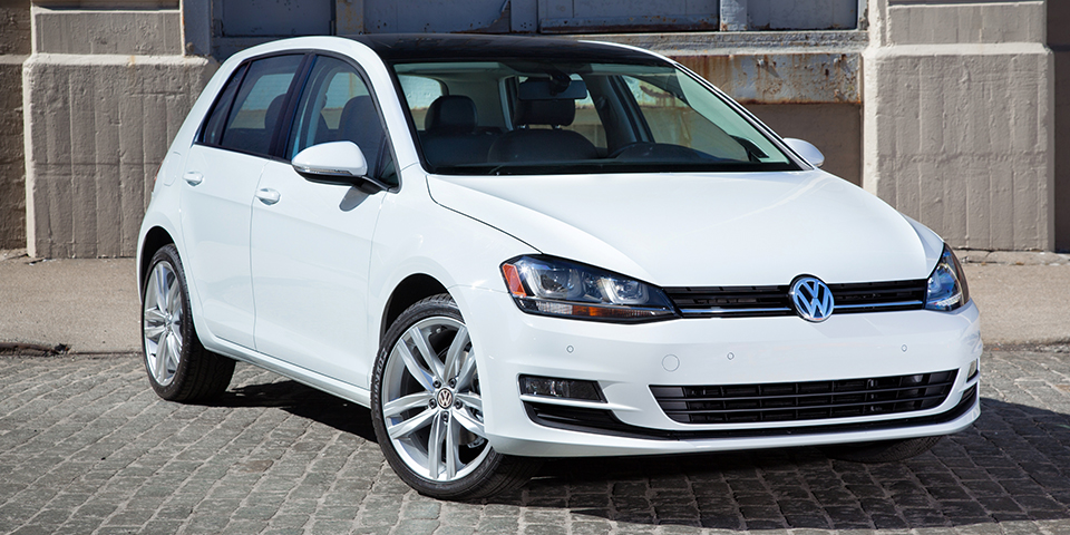 white Golf Plus image