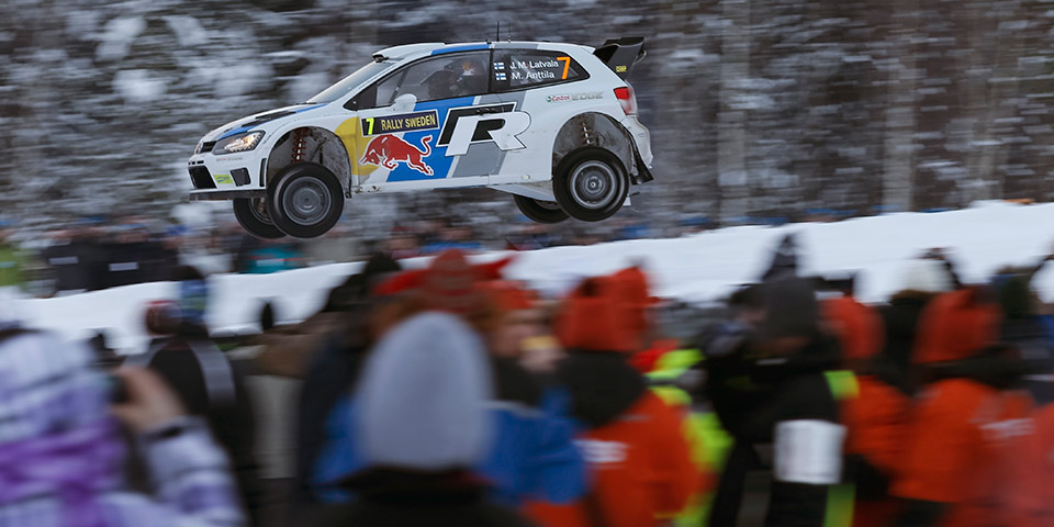 Volkswagen Motorsport Victorious in Sweden