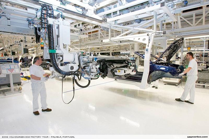 Volkswagen Eos Factory Tour - Palmela, Portugal
