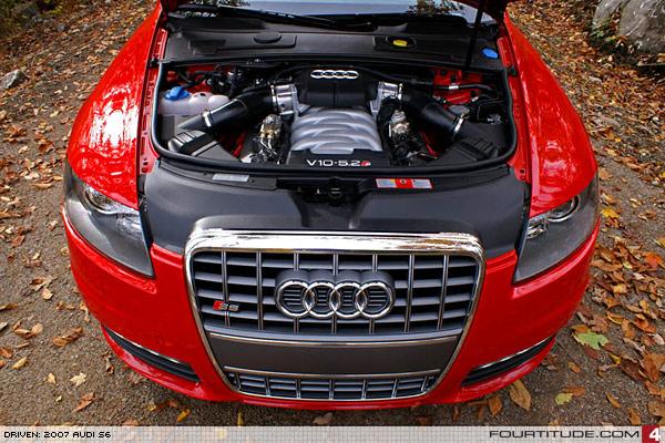 Driven Audi S - V10 audi s6