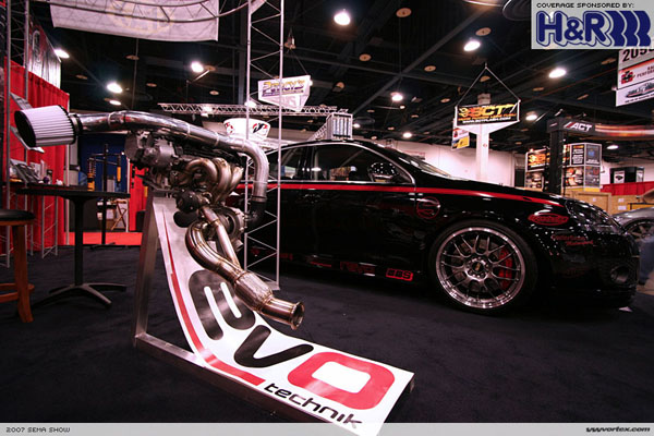 Revo Technik Displayed This Year With A Modded Gli On Display In Their Stand