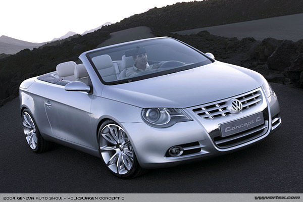 Whats The Difference Between The Concept C And The Eos VW Eos - Eos car show