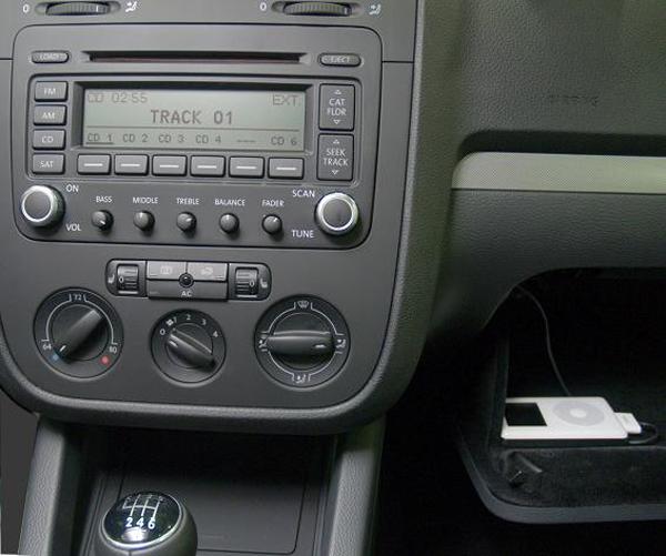 VWVortex com - iPod adapter for 2006 Passat 2 0T - NO CD