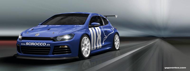 Gentlemen, start your engines! VW Premieres Scirocco GT24