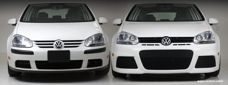 mk5 rabbit gti front bumper