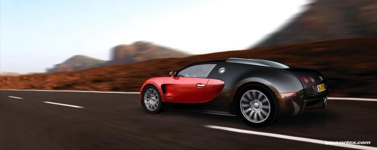 2005 Bugatti Veyron. The first Bugatti Veyron 16.4