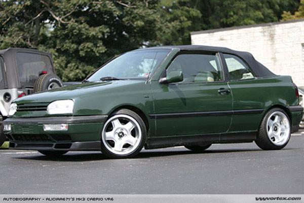 VW GOLF MK3 CABRIO – JAYJOE