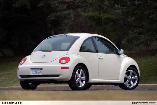 road test: 2006 new beetle 2.5 - vwvortex
