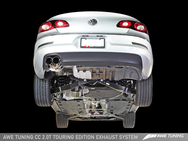 awe cc touring exhaust undercar 1280