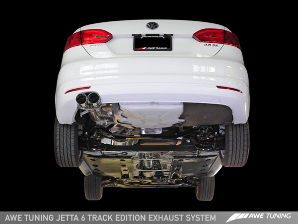 awe mk6 jetta track edition exhaust undercar 1280