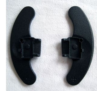 dsg paddles vw black not installed front