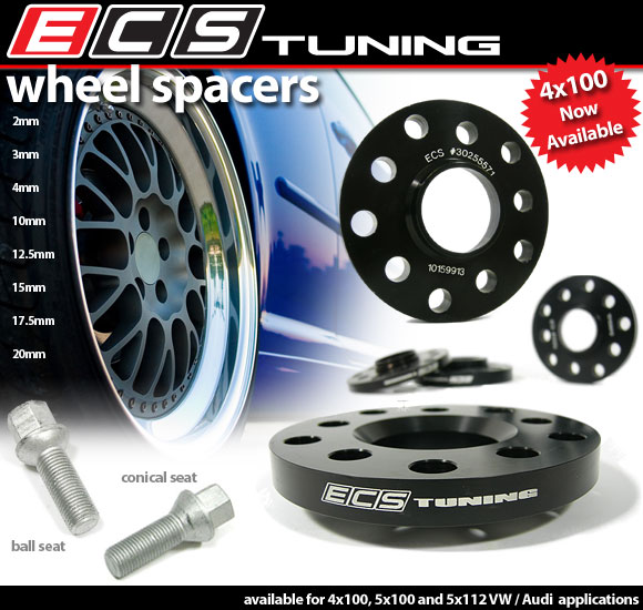 ecs wheel spacers