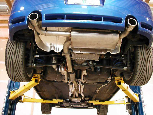 Performance Cafe: New R32 Cat Back Exhaust - VWVortex