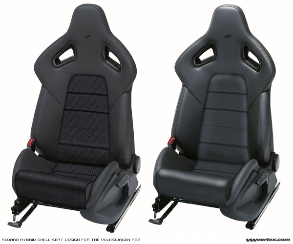 recaro and the r32 vehicle seats in hybrid technology vwvortex. Black Bedroom Furniture Sets. Home Design Ideas