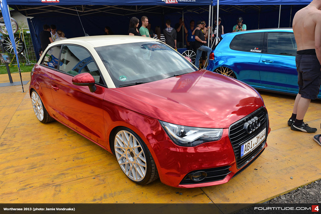 the audi a1 forum view topic w rthersee 2013 a1 photos with grey a1 quattro. Black Bedroom Furniture Sets. Home Design Ideas