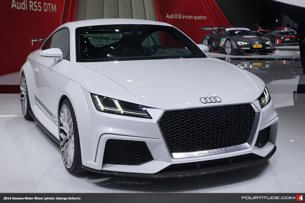 Gallery New Audi TT Quattro Sport Concept At Geneva Motor Show - New audi tt