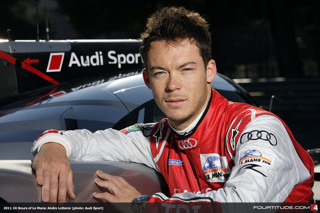 The 35-year old son of father (?) and mother(?), 185 cm tall André Lotterer in 2017 photo