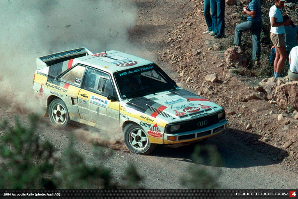 Choice Gear Audi Quattro The Rally History Reviewed By Rally Sport Magazine Vw Vortex Volkswagen Forum